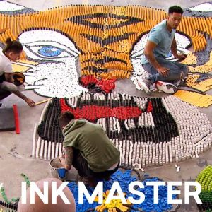 'Domino Art Flash Challenge' Official Sneak Peek | Ink Master: Grudge Match (Season 11)