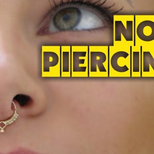 10 possibilities to do Nose Piercings | TATTOO WORLD