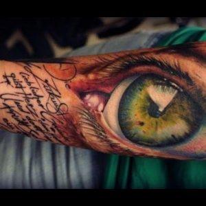 12 Striking, Stunning & Realistic Eye Tattoos