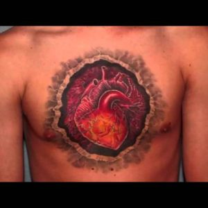 12 Unique Anatomical Heart Tattoos - Best Tattoo Desings
