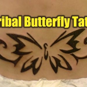 20 Excellent Tribal Butterfly Tattoos | TATTOO WORLD
