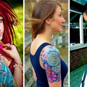 20 girls with incredible sleeve tattoos