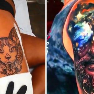 20 Incredible and Stunning Tattoos ★ Video Compilation #1