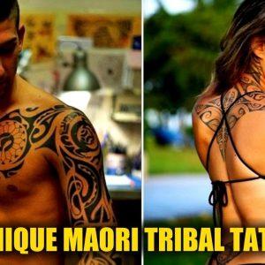 20 Unique Maori Tribal Tattoo Designs for Women and for Men
