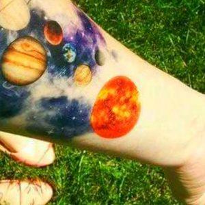 25 Best Ideas about Planet Tattoo on TATTOO WORLD