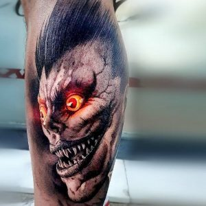 40 Stunning Anime Tattoo Ideas For Your Inspiration