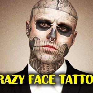 5 Crazy Face Tattoos | TATTOO WORLD