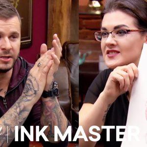 Portraits w/ Crayon 🖍️Ink Box Challenge: Sarah Miller & Bubba Irwin | Ink Master