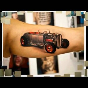 Amazing Car Tattoo Designs