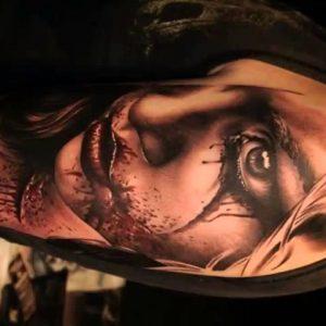Amazing Girl Portrait Tattoo Designs - Best Tattoos in the World
