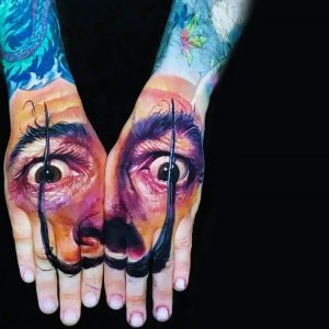 Amazing Tattoos Inspired by Salvador Dali