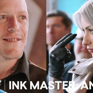 Ryan Ashley is a Master at Ink AND Trash Talk | Ink Master: Angels (Season 2)