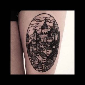 Architecture Tattoo Designs