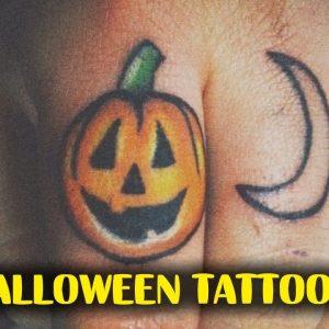 Awesome and Creepy Halloween Tattoos
