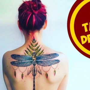 Awesome Tattoo Designs for the Spine
