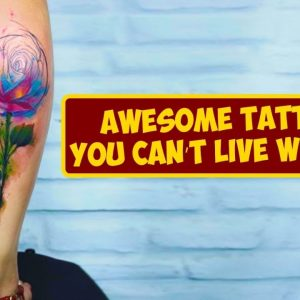 Awesome Tattoos For Girls You Can't Live Without This Summer