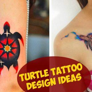 Awesome Turtle Tattoo Design Ideas