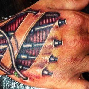 Best 3D Tattoos - 3D Hand Tattoo Designs ► Part 1