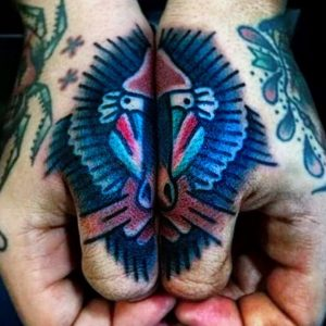 Best Examples Of Cool And Clever Thumb Tattoo Ideas For Men