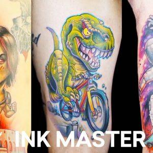 Best New School Tattoos (Mashup) 🦖 Ink Master