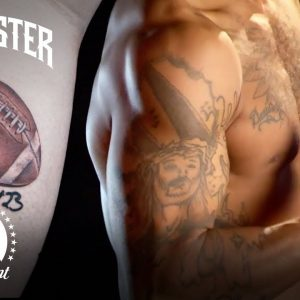 Best NFL Player Tattoo Canvases 🏈  Ink Master