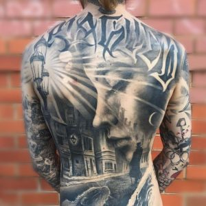 Best Tattoos In the World of April 2018