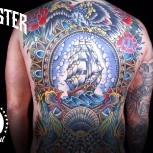 Best Tattoos of Ink Master (Season 6) | 35 Hour Backpiece