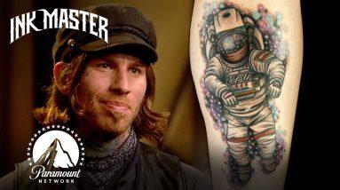 Best (& Worst) Space Tattoos 🚀 Ink Master | #ParamountPlus