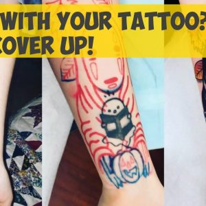 Bored With Your Tattoo? Make Cover Up!