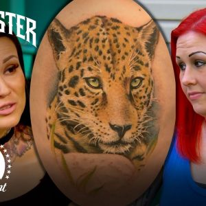 Canvas Got Another Artist To Finish Tattoo | Ink Master Redemption Story