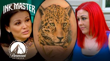 Canvas Got Another Artist To Finish Tattoo   Ink Master Redemption Story