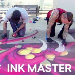 'Chalk Storm' Official Sneak Peek | Ink Master: Grudge Match (Season 11)