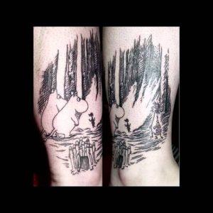 Children Book Themed Tattoo Ideas