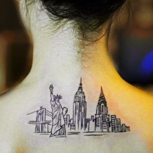 Cityscape Tattoos of the World's Most Beautiful Skylines