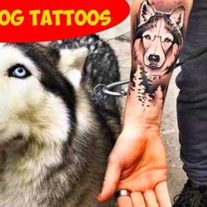 Collection Of The Best Dog Tattoo Ideas Ever