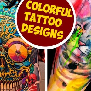 Colorful Tattoo Designs To Brighten Your Day