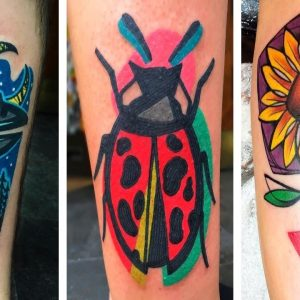 Colorful Tattoos Inked by Tattoo Artist Mike Boyd