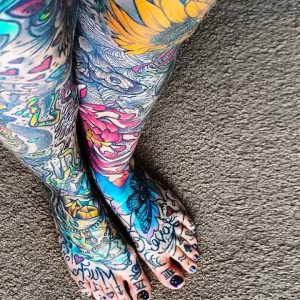 Cool Toe Tattoos That Will Catch Your Eye