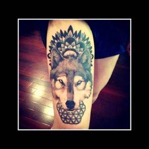 Cool Wolf Tattoo Designs