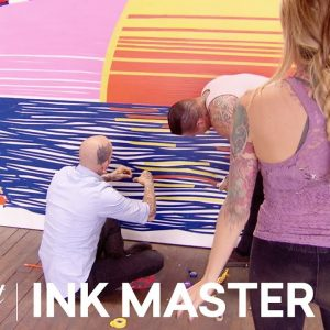 Tape Together: Testing Creativity With Tape? Flash Challenge | Ink Master: Grudge Match (Season 11)