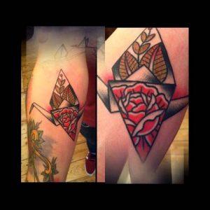 Cute Origami Tattoo Ideas