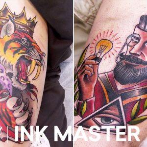 'Tiger King vs. Hipster Scholar' Elimination Official Sneak Peek | Ink Master: Grudge Match (S11)