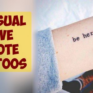 Explore These Sensual Love Quote Tattoos