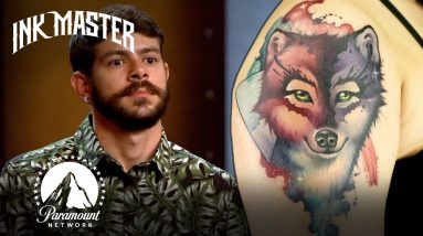 Extremely Impressive Watercolor Tattoos 🎨 Ink Master