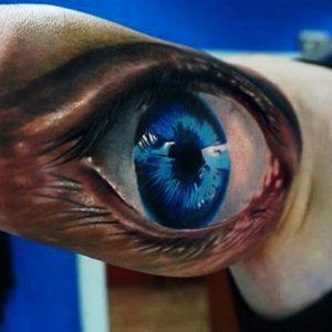 Eye 3D Tattoos - Best 3D Tattoos ►Part 1 - Compilation HD