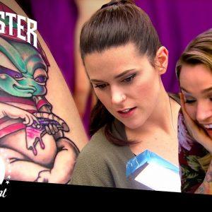 Final 4 Tattoo Each Others' Work | Battle of the Sexes (Season 12)