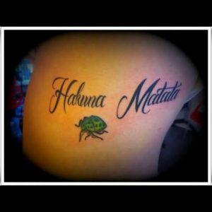 Hakuna Matata Tattoo Ideas