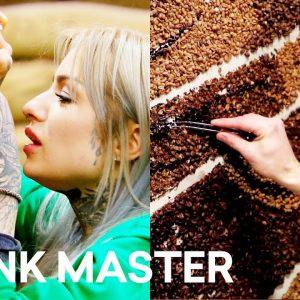 Coffee Bean Art: Flash Challenge Sneak Peek ☕ Ink Master: Battle of the Sexes (Season 12)