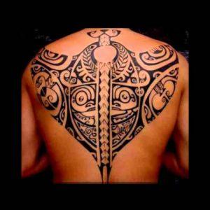 Hawaiian Tribal Tattoo Designs