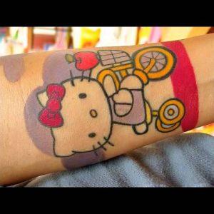 Hello Kitty Tattoo Designs